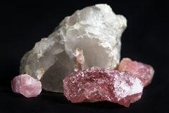 http://www.dreamstime.com/royalty-free-stock-photography-pink-tourmaline-white-quartz-image29697177
